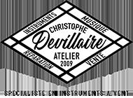 Logo de l'Atelier Christophe Devillaire | Vente et réparation d'instruments à vent à Lyon